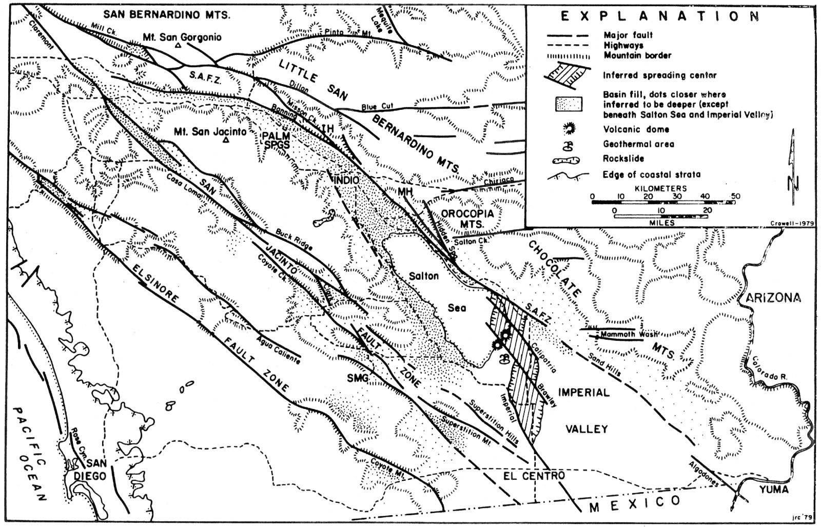 geology of san diego bay and region